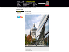 Paul Riddle Photographer – One New Change RIBA